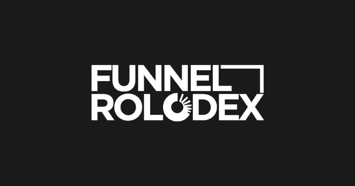 funnel rolodex the ultimate stop for all sales funnel professionals